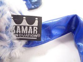 Tubular Blue Elephant Kamar Skoodlez 2008 beanbag plush With Sealed Coin image 6