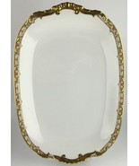 "Vignaud Limoges VIG167 Oval serving platter 14""  - $35.00"