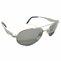 ALPINA TYPHOON VINTAGE SUNGLASSES SILVER FRAME GRAY LENS MADE IN GERMANY - $69.99