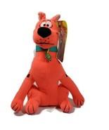 Toy Factory Scooby Doo Plush Stuffed Animal Toy Fluorescent Orange  - $8.99