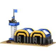 Barrack Military Army Allien Fit Lego Building Block Toy Boy Gift Christmas - $41.99