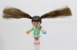 1995 Vintage Polly Pocket Doll Comb 'n Curl Salon - Rebecca Bluebird Toys - $7.00