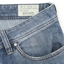 Diesel Safado Distressed Regular Slim Straight Button Fly Jeans Mens 31x30 - $74.15