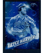 2017 Topps Fire Fired Up Blue Chip #F-10 Bryce Harper NM-MT Nationals  I... - $6.92