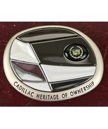 CADILLAC HERITAGE OF OWNERSHIP CHROME GRILL EMBLEM - $14.03