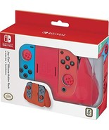 Nintendo Switch Joy-Con Action Grip and Thumb Grips - Neon Red Textured ... - $31.42
