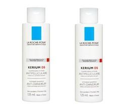 2 X La Roche Posay Kerium Ds Anti Dandruff Dry Intensive Shampooo -2x 125ml - $39.50