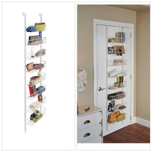 ClosetMaid Hanging Hold Storage Over Door Adjustable Basket Organizer Ra... - $1.211,56 MXN