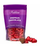 Madelaine Premium Milk Chocolate Red Valentine Hearts 1LB NEW EXPEDITED ... - $19.79