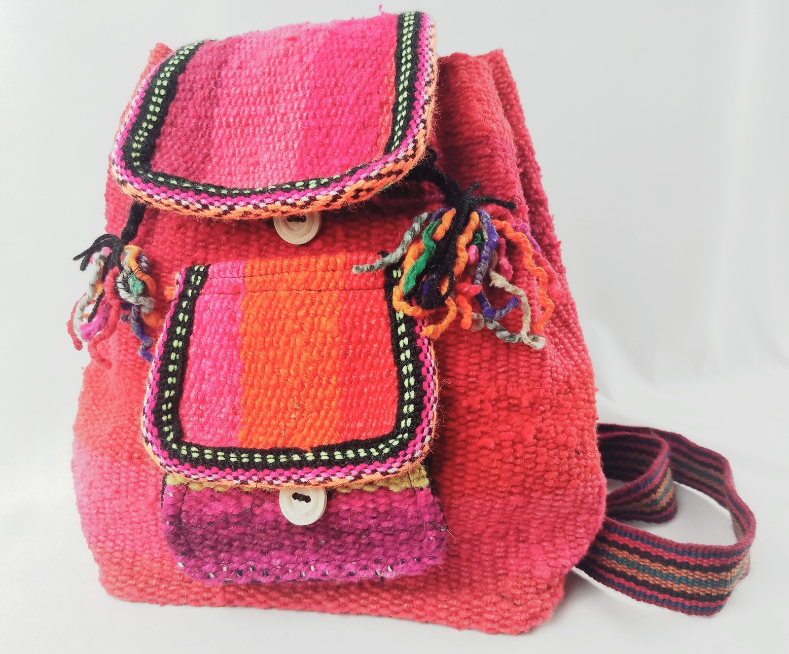 Backpack Hippie style Handmade Aspenandes