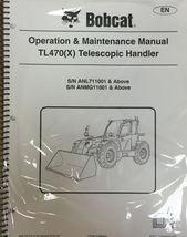 obcat TL470 X Telescopic Handler Operation Maintenance Manual 6990337 - $25.00