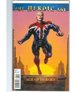 AGE OF HEROES #1: HEROIC AGE MIKE PERKINS CAPTAIN BRITAIN VARIANT (2010)... - $29.69