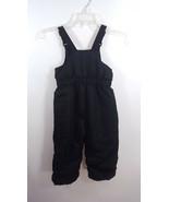 Healthtex Sz 3t Black Bib Snow Ski Pants - $21.77