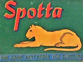 """MILTON BRADLEY """"SPOTTA """" BOARD GAME - $124.95"""