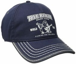 True Religion Men's Cotton Buddha World Tour Baseball Trucker Hat Cap TR1988 image 6