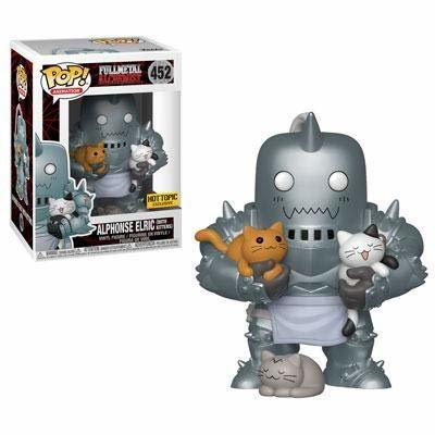 Funko POP Animation Full Metal Alchemist Alphonse Elric (with Kittens) Exclusive