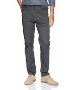 Mens Calvin Klein Stretch Sateen Casual Pants - Asphalt, Size 33Wx32L - $69.99