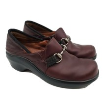 Ariat Horsebit Braided Slip-on Shoes Leather Clogs Womens Size 7 93663 - $47.51