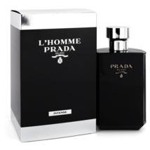 Prada L'Homme Prada Intense 5.1 Oz Eau De Parfum Cologne Spray image 1