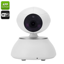 Indoor IP Camera - 1/4 Inch CMOS Sensor, 10m Night Vision, HD 720p, Remo... - $61.97