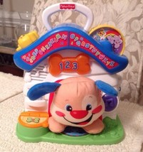 Fisher Price Laugh and Learn Puppy's Playhouse - W9737, EXCELLENT, 2011  - $14.25