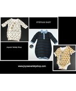 Stephan Baby Infant Gowns or Snapshirt 100% Cotton Various Styles Preemi... - $7.99