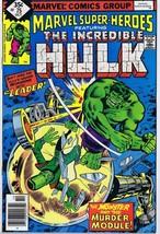 Marvel Super Heroes #75 ORIGINAL Vintage 1979 Comic Book Hulk The Leader - $9.49