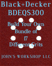 Build Your Own Bundle Black+Decker BDEQS300 1/4 Sheet No-Slip Sandpaper 17 Grits - $0.99