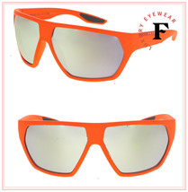 PRADA LINEA ROSSA ACTIVE 08U Coral Orange Green Mirrored Sunglasses PS08US - $257.40