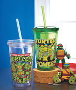 Teenage Mutant Ninja Turtles  Double Wall Tumblers Set of 2 Collectible ... - $16.44