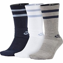 Nike SB Dri-Fit Crew 3 PACK Socks SIZE M NEW image 1