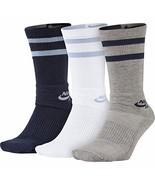 Nike SB Dri-Fit Crew 3 PACK Socks SIZE M NEW - $19.99