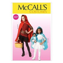 McCall's Patterns M7035 Children's/Girls'/Dolls' Costumes, CCE (3-4-5-6) - $15.68