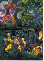 1995 Fleer Marvel Metal Inagural Edition Trading Cards Promo One-Sheet - $11.76