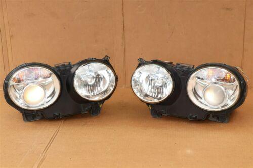 04-07 Jaguar XJ8 XJR VDP Headlight Lamp HID Xenon Set L&R POLISHED