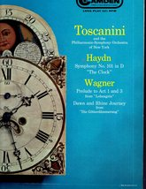 Toscanini, Haydn, & Eagner - LP Record - $5.50