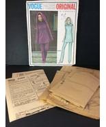 Vogue Paris Sewing Pattern 2484 Givenchy Size 10 Misses Tunic Pants Hood... - $39.61
