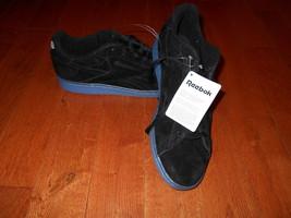 Men's Reebok Suede Classic Sz 10 Black Shoes Sneaker Club C 85 Tennis Ic... - $39.59