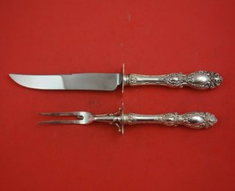 Lucerne by Wallace Sterling Silver Roast Carving Set 2pc HH WS Serving H... - $286.11
