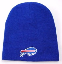 Buffalo Bills NFL Team Apparel Cuffless Knit Winter Hat/Beanie/Toque - $16.14