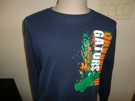 Savannah Gators Blue Long Sleeve Tshirt Adult L Very Nice 100% Cotton  A... - $19.79