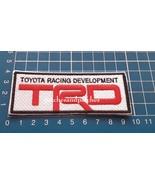 TRD Toyota Racing Development Logo Car Racing Trucks Sew on Embroidery P... - $9.99