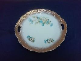 Royal Brunswick Germany Open Handle Cake Plate - $10.80