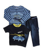 Baby Togs Toddler Boys 3 Piece Pant Set - $38.00
