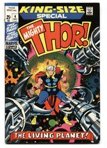 Thor Annual #4-Great cover-MARVEL-JACK Kirby Vf+ - $75.66