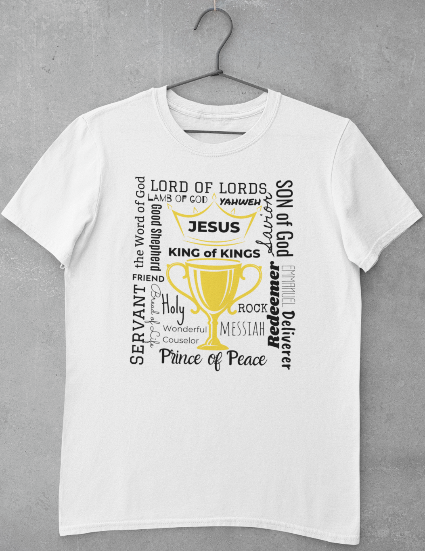 Jesus Is King T-Shirt | Christian Apparel | Christian Shirt | Ships Free