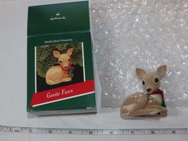 Hallmark Handcrafted Keepsake Ornament Christmas 1989 Gentle Fawn  Pre-O... - $16.33