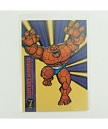 The Thing 1994 Marvel Universe Suspended amination Chase Card #7 OF 10 - $15.50