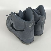 Nike Air Force 1 High '07 Basketball Mens Shoes 10 Blue Black 315121 415 image 3