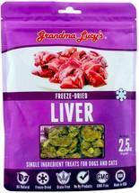 Grandma Lucy's Singles Freeze Dried Liver Single Ingredient Pet Treats - $13.64